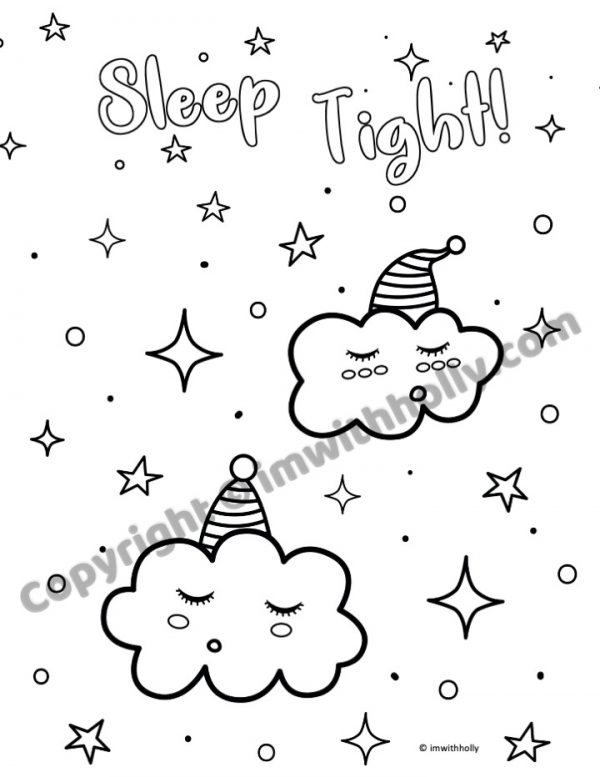 Snuggle Up Coloring Book