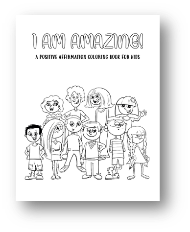 I Am Amazing Coloring Book