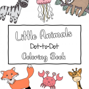 Little Animals Dot to Dot