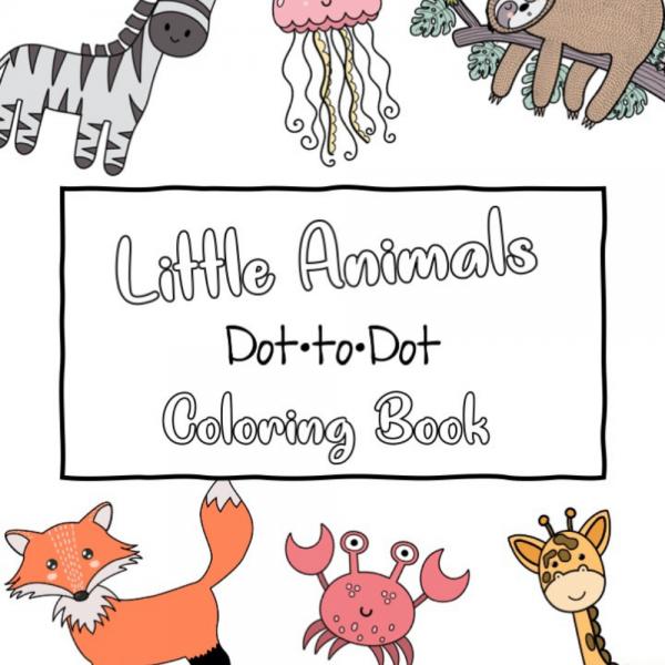 Little Animals Dot to Dot